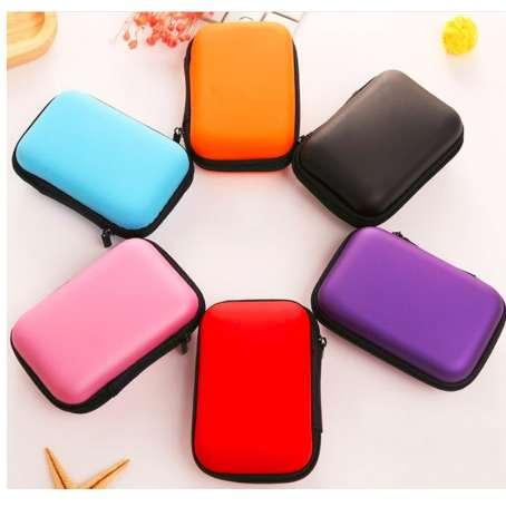 Hdd Case HDD SSD Protect Bag for Seagate Samsung WD 2.5 Hard Drive Power Bank USB Cable Charger External Hard Disk Case-in Hard