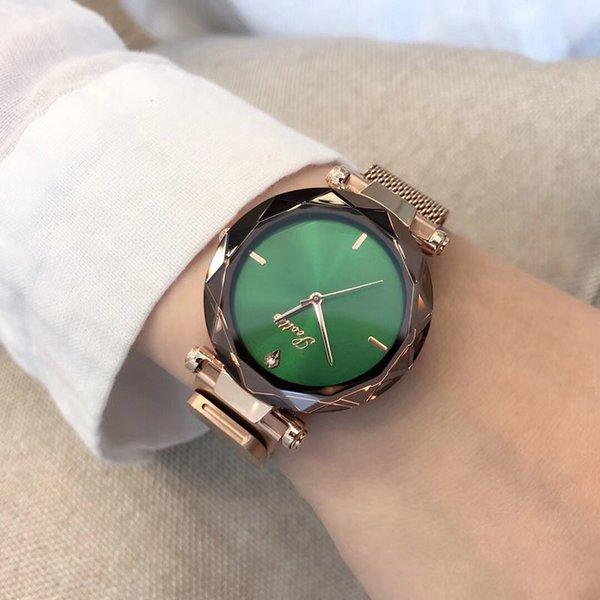 Rose Gold Green
