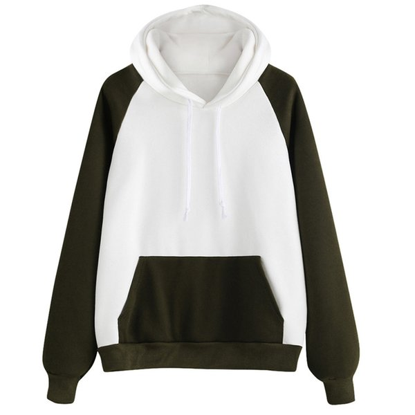 Hoodies & Sweatshirts 2017 New Arrival Women Pullover Jumper Hoody Long Sleeve Sweatshirt Tops Blouse Hot Sale#30
