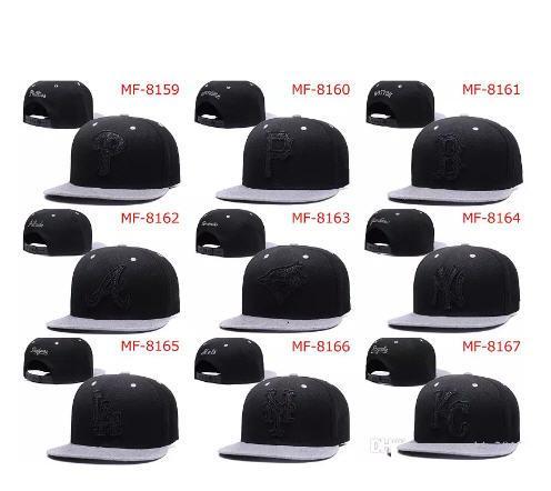 top popular wholesale Men's Women's Basketball Snapback Baseball Snapbacks Football Hats Mens Flat Caps Adjustable Sports mix order 10000+ styles 2019
