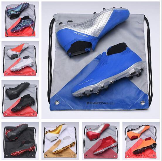 Siti Abbigliamento Online 2019 Tacchetti Da Calcio Phantom VSN Elite DF FG Scarpe Da Calcio Phantom VSN Academy FG AG Scarpe Da Calcio Uomo Scarpe