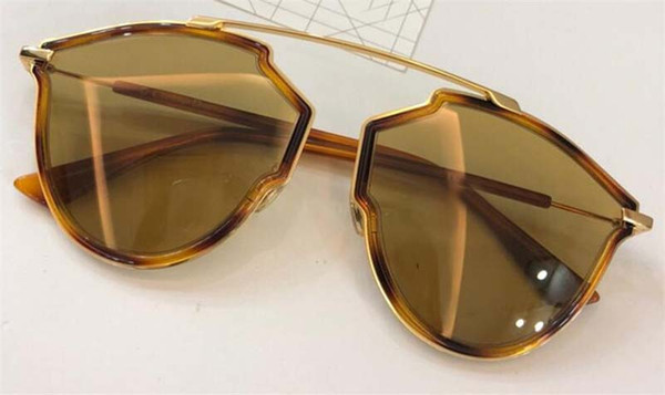 011d83a2ec990 Nova designer de moda mulheres clássico SOR óculos de sol olho de gato  quadro placa de