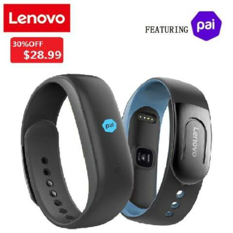 Lenovo HW02 Plus MIO PAI Smart Watch Браслет IP67 Спорт Монитор сердечного ритма 4.0 Шагомер Smart Band Дл