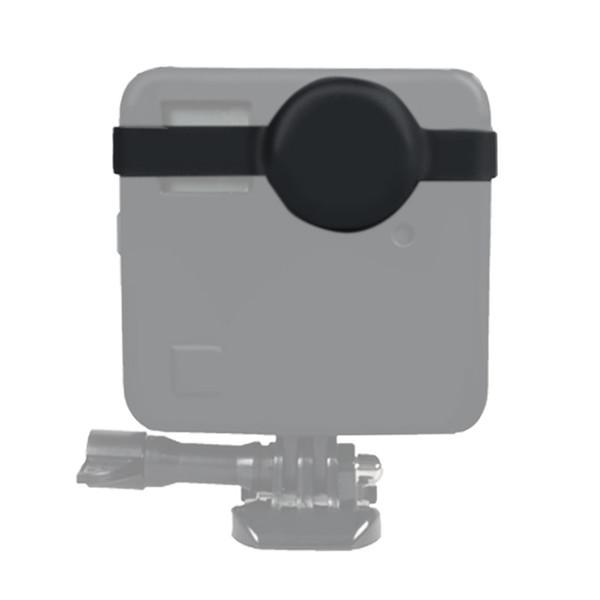 Nova chegada câmera de movimento de dupla face lente protetora capa para goopos fusão amera acessórios silicone tampa da lente