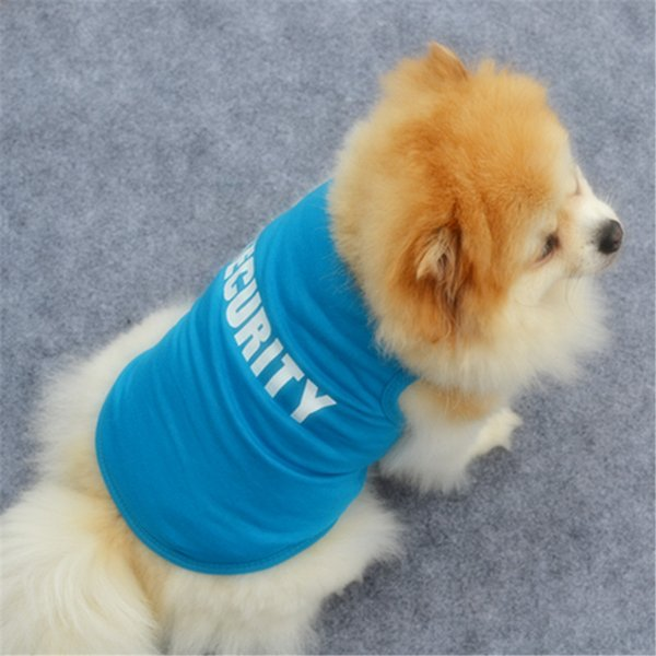 Summer Pets Puppy Dog Clothes Pet Cat New Tank Pug Vest Cotton T Shirt Apparel Costumes Dog Clothes for Small Dogs Chihuahua