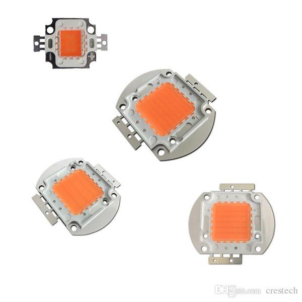 Full Spectrum led grow chips High Power 10W 30W 50W 100W 380NM-840NM DIY LED Grow Light Kit Epistar 35mil 45mil Pink led beads
