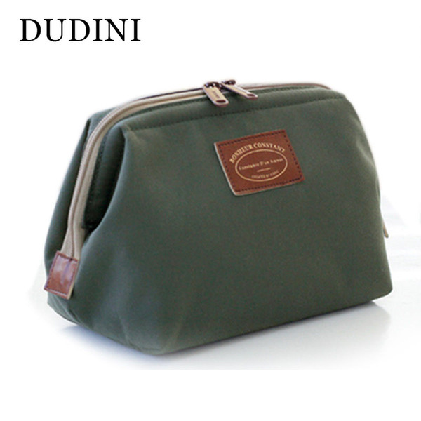 New Arrival Revision Cosmetic Bag In Bag Metal Frame Waterproof Nylon Sorting Storage Bags Professinal Make Up Cases Small Purse