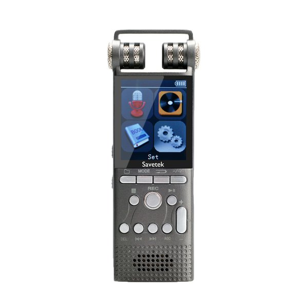 best selling Savetek Professional Voice Activated Digital Voice Recorder 8GB USB Pen Non-Stop 60hrs Recroding PCM 1536Kbps Auto timer recording