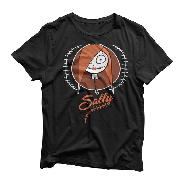 Sally Skellington T-Shirt - TV The Nightmare Before Christmas - Halloween Party Funny free shipping Unisex Casual tee