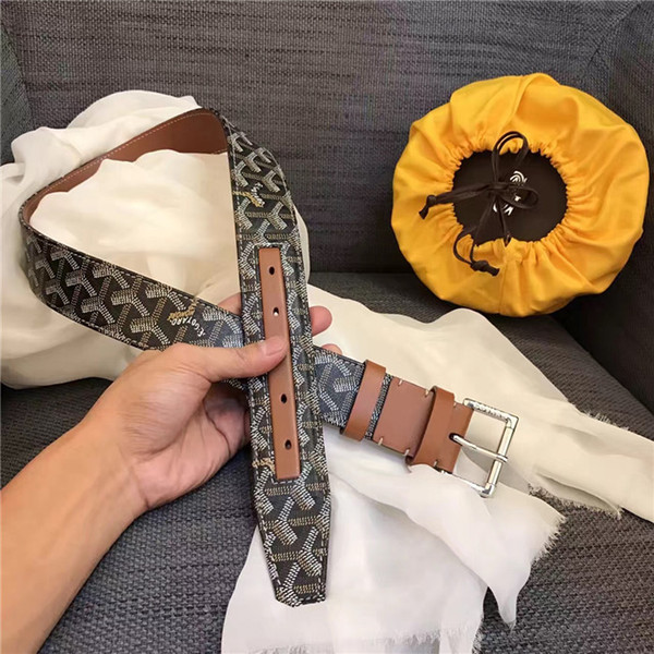 Hot fashion gem buckle belts for men and women genuine leather brand luxury belts Men high quality belt with box