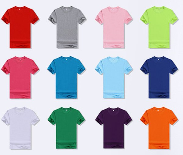 Class Cothes Crew Neck Cutton T-shirt Men Women Solid Color Breathable Sweaters Lovers Short Sleeved Tops Family Casual Acitive Tees