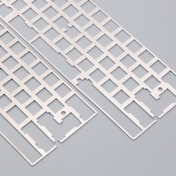 Kundenspezifische TINA DZ60 Tastatur DIY Montage Positionierung Stahlplatte Mechanische Tastatur 60% Layout 2u 2.25u Links Shift Plate