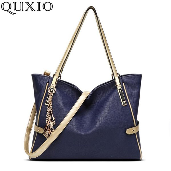 2018 winter new atmosphere ladies bag European and American fashion tassel handbag temperament slung shoulder bag CZ143