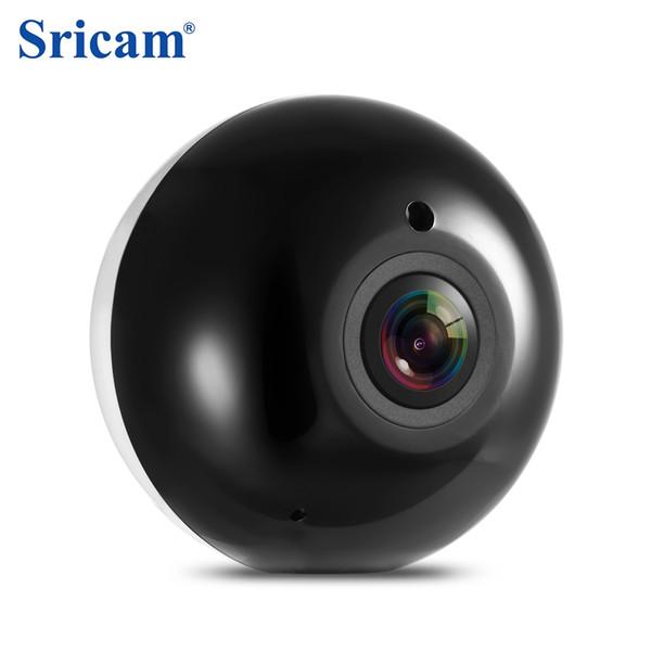 Sricam SP022 HD 960P Беспроводная Wi-Fi IP-камера для внутреннего наблюдения Панорама 360 градусов / ИК ночного видения / P2P / Обнаружение движения