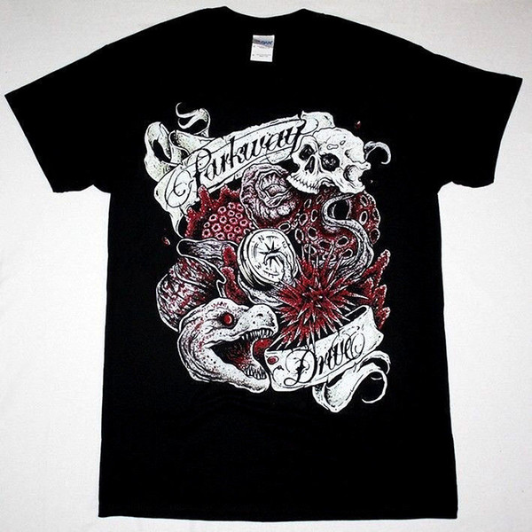 PARKWAY DRIVE EELS METALCORE I KILLED THE PROM QUEEN EMMURE NEW BLACK T-SHIRT Made Good Quality T Shirt Top Tee