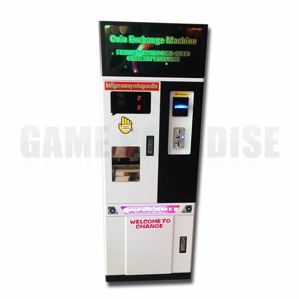 Bill Exchange Coin Token Money Change Machine Automatically Currency  Exchange Machine Best Video Game Consoles Best Video Game Player From