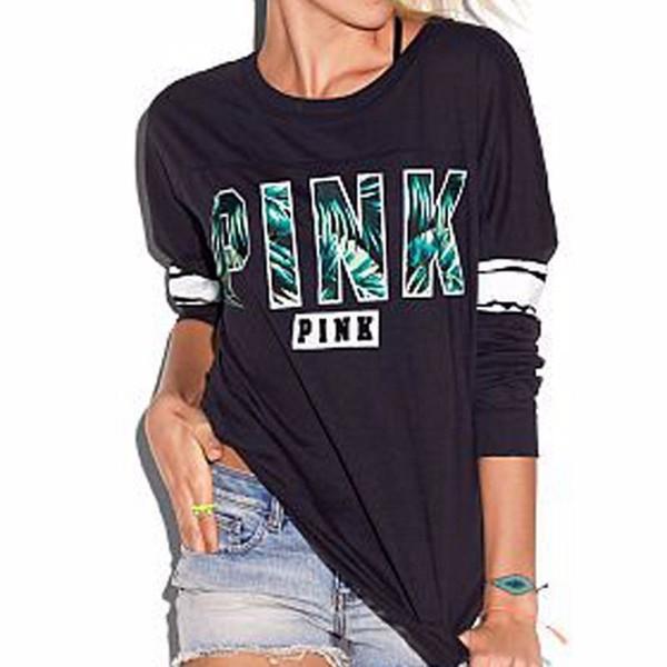 c3d5ae73937 Nueva marca para mujer sudadera con capucha Streetwear sin sombrero Otoño  damas rosa algodón Jumper sudadera