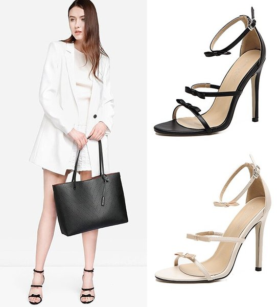 woman shoes chaussure femme cross-tied lace up Zapatos Mujer ladies summer sandals women chunky high heels pumps clear
