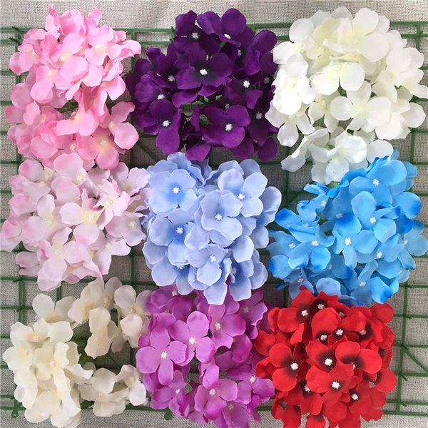 2019 Flower Head Wedding Background Flower Wall Decoration Flowers Diy Photography Props Party Romantic Garden Bedroom Decor Free Ship From
