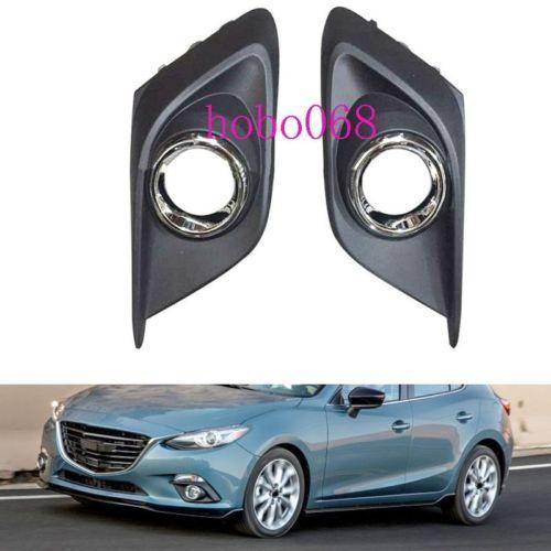 2X / LOT Für 2014-16 Mazda 3 Axela Auto Vorne Links Rechts seite Nebelscheinwerfer Licht Abdeckungen ohne builbs