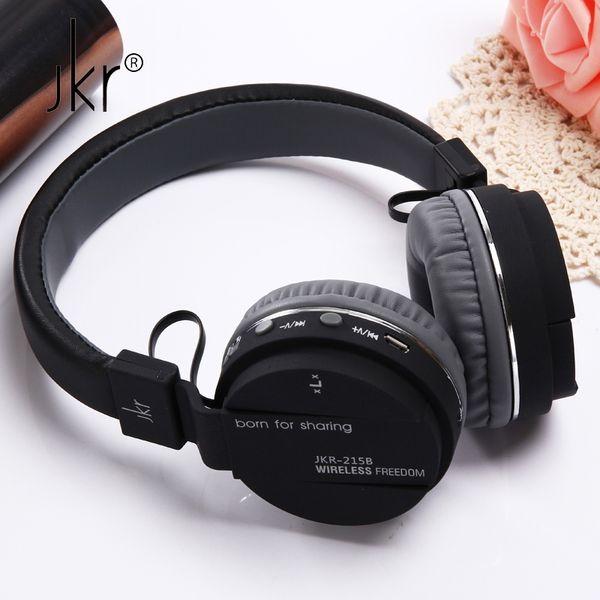 JKR Hifi Auricular Big Casque Cordless Wireless Blutooth Headphone Bluetooth Earphone For Phone Headset Head Sluchatka Headfone Fashion