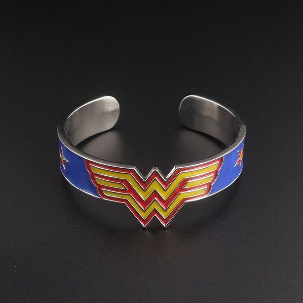 3 Styles Wonder Woman Cuff Bangle Bracelets For Women Superhero Bangle For Mom Birthday Gift Meaningful Bracelet Mother'S Day Gift