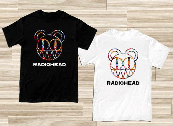 Cool T Shirt Companies Radiohead Colin Greenwood Philip Selwa Logo Crew Neck Men Short Sleeve Compression T Shirts