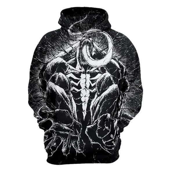 Newest 3D Print Christmas Halloween Carnival hero Creative movie Theme Pullover Hoodies for Women/men Causal Loose Plus Size Sweatshirts