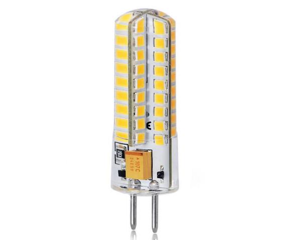 G4 2835 72 lights LED silicone corn light led light AC/DC12V light bulb Lighting Bulbs