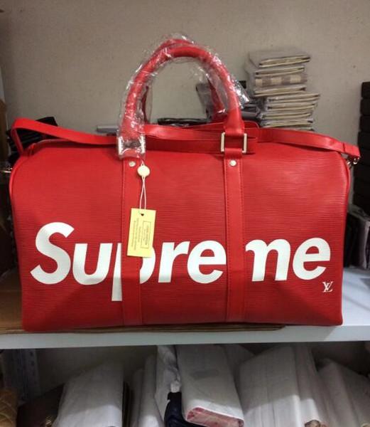 free shipping NEW fashion men women travel bag duffle bag, brand designer luggage handbags large capacity sport bag