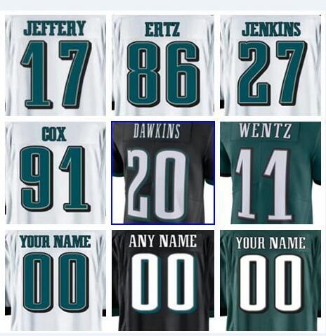best website 8eae7 1ba65 2019 2018 Philadelphia Brian Dawkins Eagles Jersey Fletcher Cox Vapor  Untouchable Color Rush Limited Customized American Football Jerseys Youth  From ...
