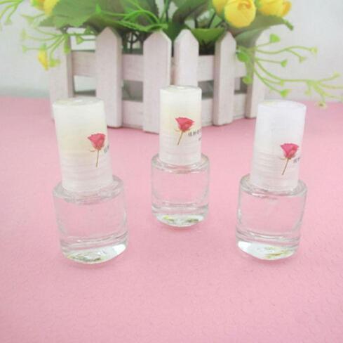 Venta caliente 5 ml Base de Uñas Transparente Capa de Esmalte Cubierta de la capa Nail Art Endurecedor Herramienta de Vitamina Envío Gratis