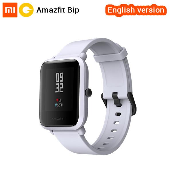 wholesale Huami Amazfit Bip Smart Watch [English Version] Smartwatch Pace Lite Bluetooth 4.0 GPS Heart Rate 45 Days Battery IP68