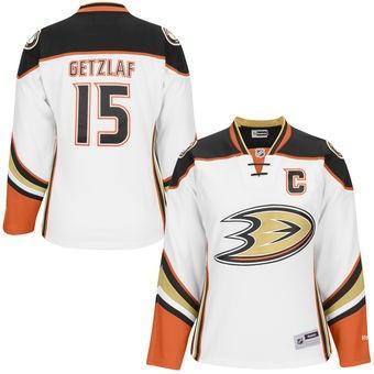 2018 nhl hockey jerseys cheap custom Women s Anaheim Ducks Ryan Getzlaf  White Premier Player Jersey store fc8e42181
