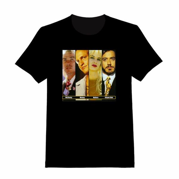 Create A Shirt Online Short Sleeve Men Graphic Natural Born Killers Custom T-Shirt 162 O-Neck Tees