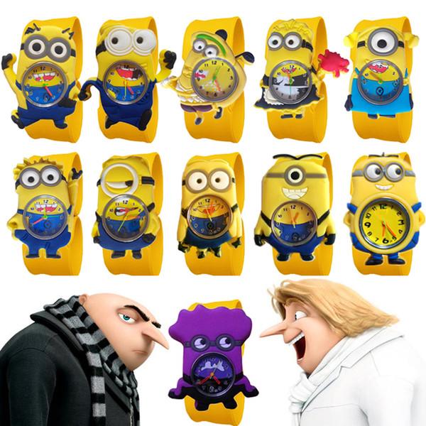 Relógios Dos Desenhos Animados 3D Vendas Por Atacado Hot Sales Boa Qualidade Tapa Assista Meninos Silicone Clap Relógio De Pulso Do Bebê Meninas Meninos Crianças Relógios