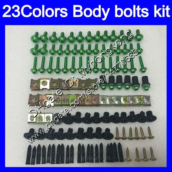Fairing bolts full screw kit For KAWASAKI NINJA ZX2R ZXR250 1990 1991 1992 ZX 2R ZXR 250 ZX-2R 90 92 Body Nuts screws nut bolt kit 25Colors