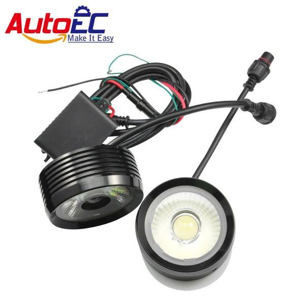 AutoEC White 2*10w 20W Eagle Eyes Car Fog DRL daytime running lights Lamp Screw For Mazda 6 2015 bmw e46 angel eyes #LM23