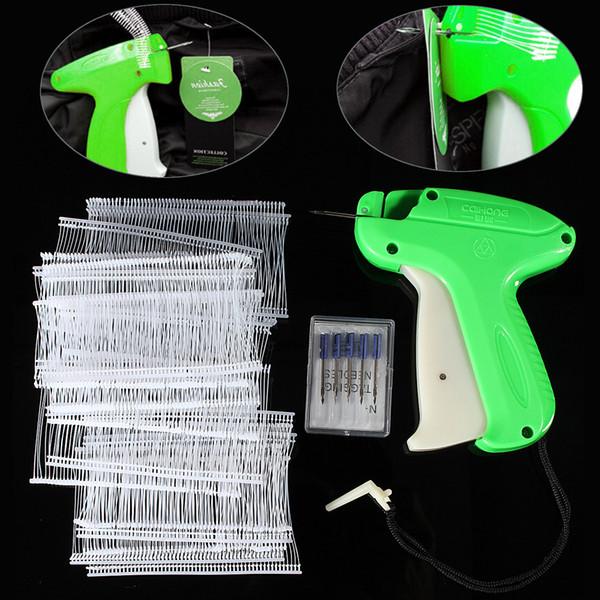 Máquina de etiquetado de ropa con etiqueta de pistola de etiqueta de precio con 1000 púas y 5 agujas fijadas