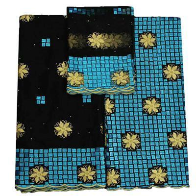 Tessuto bazin beautifical 100% cotone bazin riche getzner bazin africano tessuto riche per abiti da donna