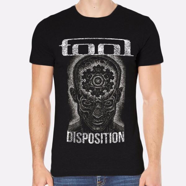 Comprar Cool Camisas Tripulação Pescoço Ferramenta Rock Novos Homens T-Shirt Preto Roupas 201 Homens Compressão Curto Camisetas