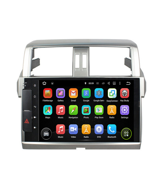 10.1inch 1024*600 4GB RAM Octa Core Android 6.0 Car DVD Radio player for Toyota PRADO 2014 2015 with GPS Navigation 3G 4G WIFI