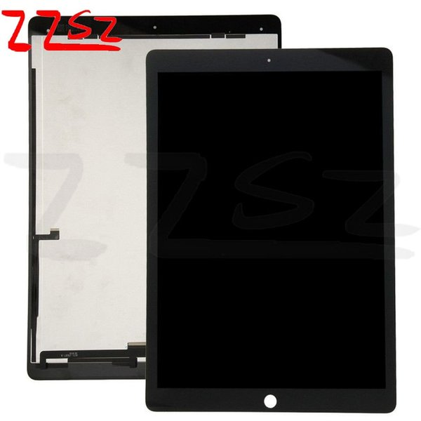 Wholesale for iPad Pro 12.9 LCD Touch Screen Display Digitizer Assembly Replacement OEM A+++ Quality Black with free shipping