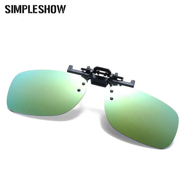 4cef4af9c13 SIMPLESHOW Rimless Sunglasses Clip Women Square Sun Glasses Clip On Eyeglasses  Men Eyewear UV400 Oculos de sol