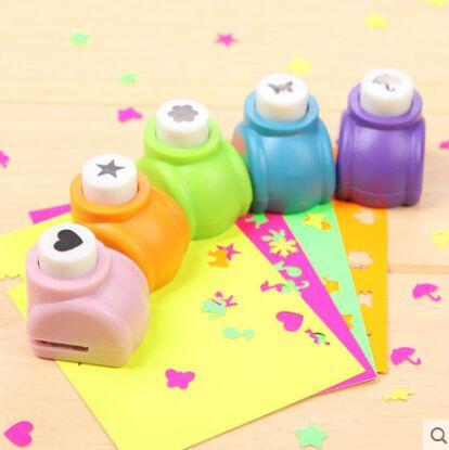 top popular Circle Flower Punch DIY Craft Hole Puncher Kids Handmade Craft Gift Scrapbook Paper Cutter Scrapbooking punches Embossing device 2021