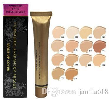 Waterproof Face Liquid Concealer Contour Makeup Cover Foundation Cream Make Up Cover Limited Version Cosmetic Concealer Foundation 14 colors
