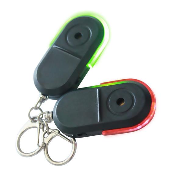 Новейшие беспроводные анти-потерянный сигнал тревоги Key Finder Locator брелок свисток звук светодиодные вещи трекер анти-потерянное устройство