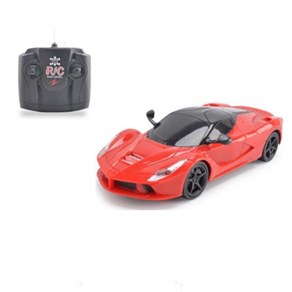 1:24 Super Racing Elektro RC Cars Blinkende Wireless Controller Wettbewerbs Sport Fernbedienung Auto Jungen Spielzeug Geschenke