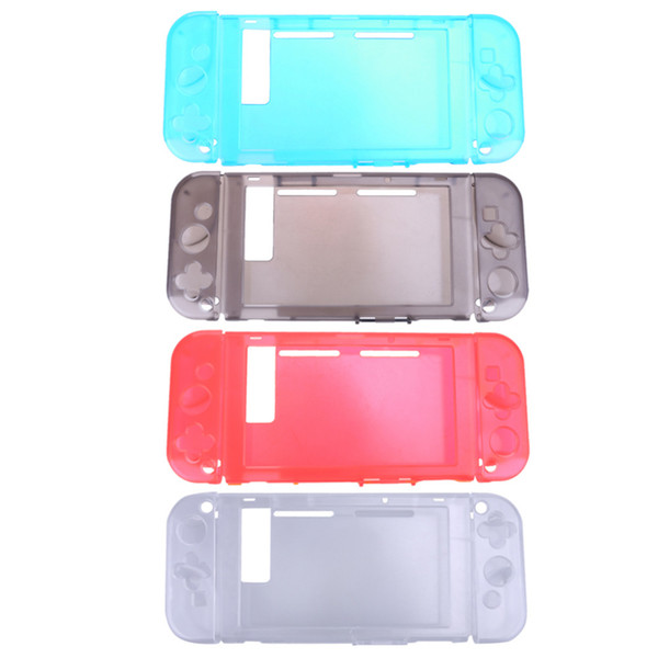 top popular 4 Color Lightweight Crystal Protective Case Cover for Nintendo Switch NS Console and Controller Game Case 2019