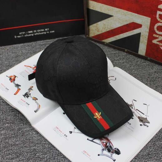 Bonés de beisebol 100% algodão design marca cap Bordado chapéus de luxo para homens cap 6 painel snapback preto chapéu mulheres viseira casual gorras osso 236